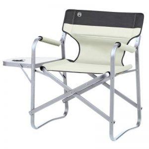 Coleman Large fauteuil de camping avec tablette latérale Deck Chair with Table de la marque Coleman image 0 produit