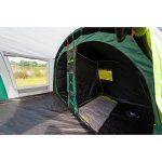 Coleman Tente Rocky Mountain 5 Plus, grande tente de camping avec 2 chambres, toile de tente 5 personnes avec Technologie BlackOut Bedroom, tente familiale 5 places, tente tunnel avec auvent de la marque Coleman image 3 produit