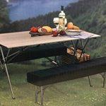 connex Warenhandel Table pliante avec 2bancs Aluminium Chaise de camping de la marque connex Warenhandel image 4 produit