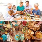 Couverts de table, Elegant Life 24 Pièces Couverts de table, Ensembles de couverts en acier inoxydable Ensembles d'Ustensiles de Cuisine avec service de boîte-cadeau pour 6 personnes, au poli miroir de haute qualité, Multi-usages pour maison, voyager, piq image 3 produit