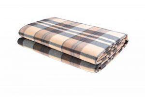 Couverture de pique-nique - 139'7cm x 152'4cm, marron claire - Mod. SY-037-03 . de la marque The Khan Outdoor & Lifestyle Company image 0 produit