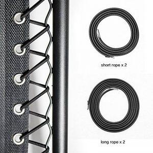 Cross Land Remplacement Universel de dentelle pour Zero Gravity Chaise longue fauteuil Lounge, 4 cordes par paquet, Noir de la marque Cross Land image 0 produit