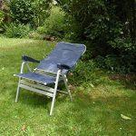 De prix - 1 x fishbone anthracite 1 x bleu 2 fishbone x-pERFORMANCE chaise pliante chaise pliante de camping-sTABIELO fishbone - 1 x 1 x bleu fishbone anthracite charge maximale 10 vERBREITERTER cm avec assise en aluminium-chaise - 6,6–kg-léger-charge max image 4 produit