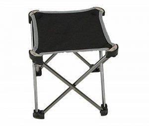 Dingsheng Mini Portable Tabouret pliant Petite Chaise avec tissu Oxford pour camping randonnée Plage Pêche ultraléger Compact Camp Silver de la marque DingSheng image 0 produit
