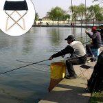 Donnagelia Chaise Pliante Portable Tabouret Ultraléger Pour Pêche Voyage Camping Randonnée Pique-nique Barbecue Charge Moins de 80 kg de la marque Donnagelia image 2 produit