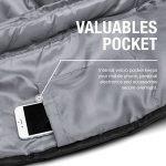 Double Sac de Couchage - Taille XL - Se convertit en 2 lits simples - 3 saisons pour le camping, la randonnée et les activités extérieures de la marque Active Era image 4 produit