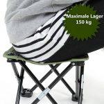 EKKONG Ultraléger Chaise Pliante Portable Pour Camping/Pêche/Randonnée/Pique-nique de la marque EKKONG image 3 produit