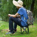 EKKONG Ultraléger Chaise Pliante Portable Pour Camping/Pêche/Randonnée/Pique-nique de la marque EKKONG image 4 produit