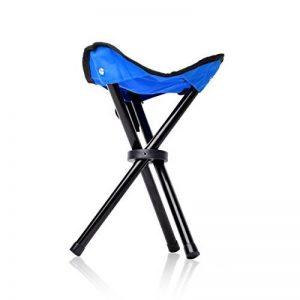 Eyourlife Tabouret Pliant Chaise Portable Chaise Pliante Pêche Chaise Pliable Camping Tabouret Trépied Pliant de la marque Eyourlife image 0 produit
