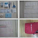 First Aid Kit Bag Trousses de premier secours Voyage / Extérieur Urgence Premier Soin Secouriste Maison Camping et Randonnée de la marque Amzdeal image 6 produit