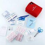 First Aid Kit Bag Trousses de premier secours Voyage / Extérieur Urgence Premier Soin Secouriste Maison Camping et Randonnée de la marque Amzdeal image 4 produit
