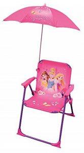 FUN HOUSE Princesses Chaise avec Parasol Fille, Rose de la marque FUN HOUSE image 0 produit