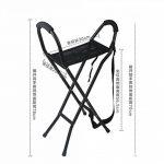 GAOMEI@Cannes Stick tabouret quatre pieds ancienne en aluminium léger quatre pieds canne tabouret pliantes, chaises de canne de la marque GAO image 1 produit
