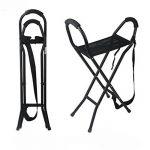 GAOMEI@Cannes Stick tabouret quatre pieds ancienne en aluminium léger quatre pieds canne tabouret pliantes, chaises de canne de la marque GAO image 2 produit