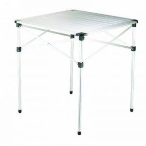 Grand Canyon Table - table de camping, pliante, aluminium, 70 x 70 x 70cm, argent, 308005 de la marque Grand Canyon image 0 produit