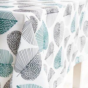Gwell Nappe Rectangulaire Tissu Oxford Lavable Entretien Facile Résistant 180*140cm/ 240*140cm/ 260*140cm de la marque GWELL image 0 produit