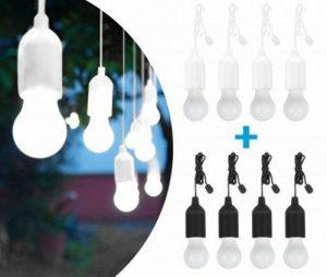 Handy Lux Couleurs kabellose LED Leuchte in 2 Gehäuse Farben | 8 pièces Lampen | Safe touch Oberfläche | Bruchfest | Garten, Camping, Fête, Kleiderschrank | Das Original aus dem TV de la marque Sanrenxing image 0 produit