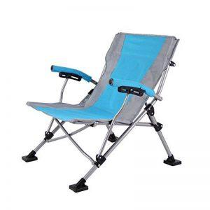 HM&DX Outdoor Camping Chaises Pliantes Pour Personnes Fortes,Portable Compact Heavy Duty Loisir Chaise De Plage Pliante Pour La Randonnée Jardin Plage de la marque HM&DX image 0 produit