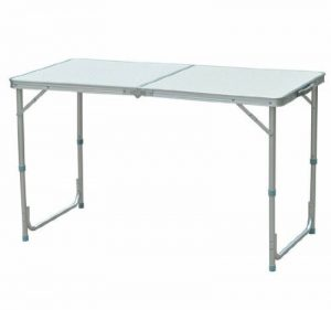 Homcom Table de camping reception pliante portable pique-nique buffet en aluminium 00 de la marque Homcom image 0 produit