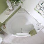 HUDSON REED Baignoire d'Angle 120X120CM - Acrylique Blanc de la marque HUDSON REED image 1 produit