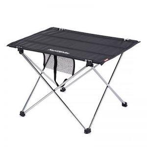 Hysenm Table Pliante Pliable Alu 2/4 Personnes Portable Ultraléger Compact Flexible Camping Randonnée Jardin Cuisine Sport Balcon Valise Pique-nique Barbecue Buffet de la marque HYSENM image 0 produit