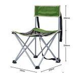 ICOCO Chaise de camping chaise pliante Angel pliable chaise Pêche pour BBQ, camping, pêche, Voyage, la randonnée, jardin, plage, Oxford de serviette avec sac de transport de la marque ICOCO image 1 produit