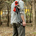 ICOCO Chaise de camping chaise pliante Angel pliable chaise Pêche pour BBQ, camping, pêche, Voyage, la randonnée, jardin, plage, Oxford de serviette avec sac de transport de la marque ICOCO image 3 produit