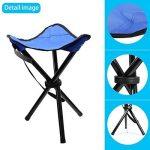 Ideapro Tabouret trépied pliable portable et léger pour camping, randonnée, pêche de la marque IDEAPRO image 2 produit