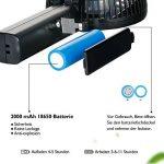 iEGrow Mini Ventilateur de Table Puissant et Silencieux Portable USB ventilateur de bureau pour de boîtier Noir de la marque iEGrow image 2 produit