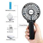 iEGrow Mini Ventilateur de Table Puissant et Silencieux Portable USB ventilateur de bureau pour de boîtier Noir de la marque iEGrow image 3 produit