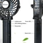 iEGrow Mini Ventilateur de Table Puissant et Silencieux Portable USB ventilateur de bureau pour de boîtier Noir de la marque iEGrow image 4 produit