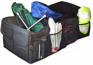 Jocca Outil Organiseur de coffre de rangement/compartiments et poche élastique, Noir de la marque Jocca image 0 produit