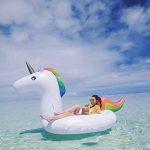 Jouet de licorne gonflable géant - Lit flottant de piscine - Chaise de récréation générale et pour adultes et enfant de la marque Dracarys image 2 produit