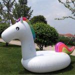 Jouet de licorne gonflable géant - Lit flottant de piscine - Chaise de récréation générale et pour adultes et enfant de la marque Dracarys image 6 produit
