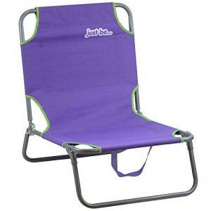 just be... Chaise longue de jardin et de plage pliable de la marque just be... image 0 produit