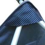 KingCamp Deluxe léger Super confortable Alluminium fauteuil pour la pêche de pique-nique Camping plein air plage - Gris - Taille: L de la marque KingCamp image 2 produit