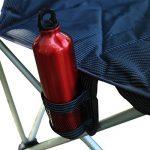 KingCamp Deluxe léger Super confortable Alluminium fauteuil pour la pêche de pique-nique Camping plein air plage - Gris - Taille: L de la marque KingCamp image 3 produit