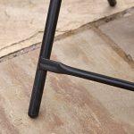 Kingfisher FSDT Table d'appoint pliante pour le jardin ou la terrasse Noir de la marque Kingfisher image 3 produit