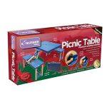 Kingfisher Olfpt 4personnes Camping pique-nique Table pliante Bench Lot–Bleu de la marque Kingfisher image 1 produit