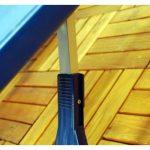 Kingfisher Olfpt 4personnes Camping pique-nique Table pliante Bench Lot–Bleu de la marque Kingfisher image 2 produit
