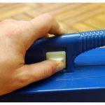Kingfisher Olfpt 4personnes Camping pique-nique Table pliante Bench Lot–Bleu de la marque Kingfisher image 3 produit