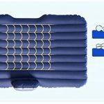 Kitzen Lit d'air voyage de voiture Matelas gonflable Camping Auto Air Inflation Siège arrière Canapé étendu pour VUS et berlines et camions 130 * 80cm high quality de la marque Kitzen image 2 produit