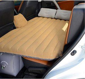 Kitzen Lit d'air voyage de voiture Matelas gonflable Camping Auto Air Inflation Siège arrière Canapé étendu pour VUS et berlines et camions 130 * 80cm high quality de la marque Kitzen image 0 produit