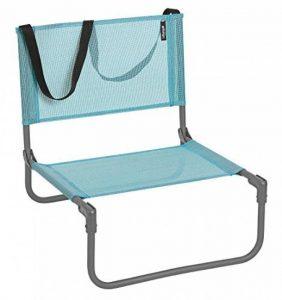 Lafuma Chaise basse de camping, Pliable, CB, Batyline, Couleur: Lac, LFM1210-8553 de la marque Lafuma image 0 produit