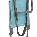 Lafuma Chaise basse de camping, Pliable, CB, Batyline, Couleur: Lac, LFM1210-8553 de la marque Lafuma image 1 produit