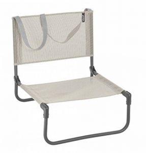 Lafuma Chaise basse de camping, Pliable, CB, Batyline, Couleur: Seigle, LFM1210-8548 de la marque Lafuma image 0 produit