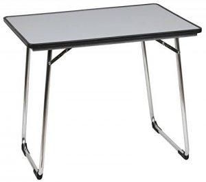 Lafuma Table de camping pliante, 80 x 57 cm, Étanche, Fidji, Couleur: Carbon, LFM1487-3631 de la marque Lafuma image 0 produit