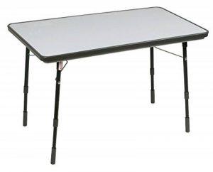 Lafuma Table de camping pliante, Hauteur réglable, 115 x 68,5 cm, Étanche, Arizona, Couleur: Carbon, LFM2208-4256 de la marque Lafuma image 0 produit