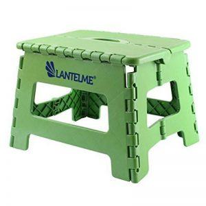 Lantelme 6775Tabouret pliant en vert–universel Tabouret en plastique–pliable que les enfants Tabouret–Marchepied ou aussi comme Siège de la marque Lantelme image 0 produit