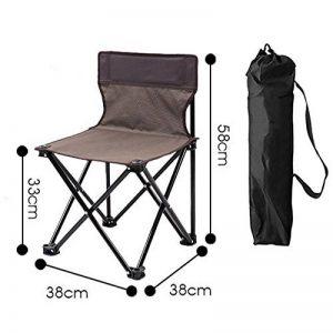 LDFN Chaise Pliante Portable Jardin Chaise Extérieure Tabouret Chaise De Pêche Chaise De Loisirs Chaise De Plage Art Sketch Directeur Chaise,B-38*38*58cm/1.25*1.25*1.9ft de la marque LDFN image 0 produit